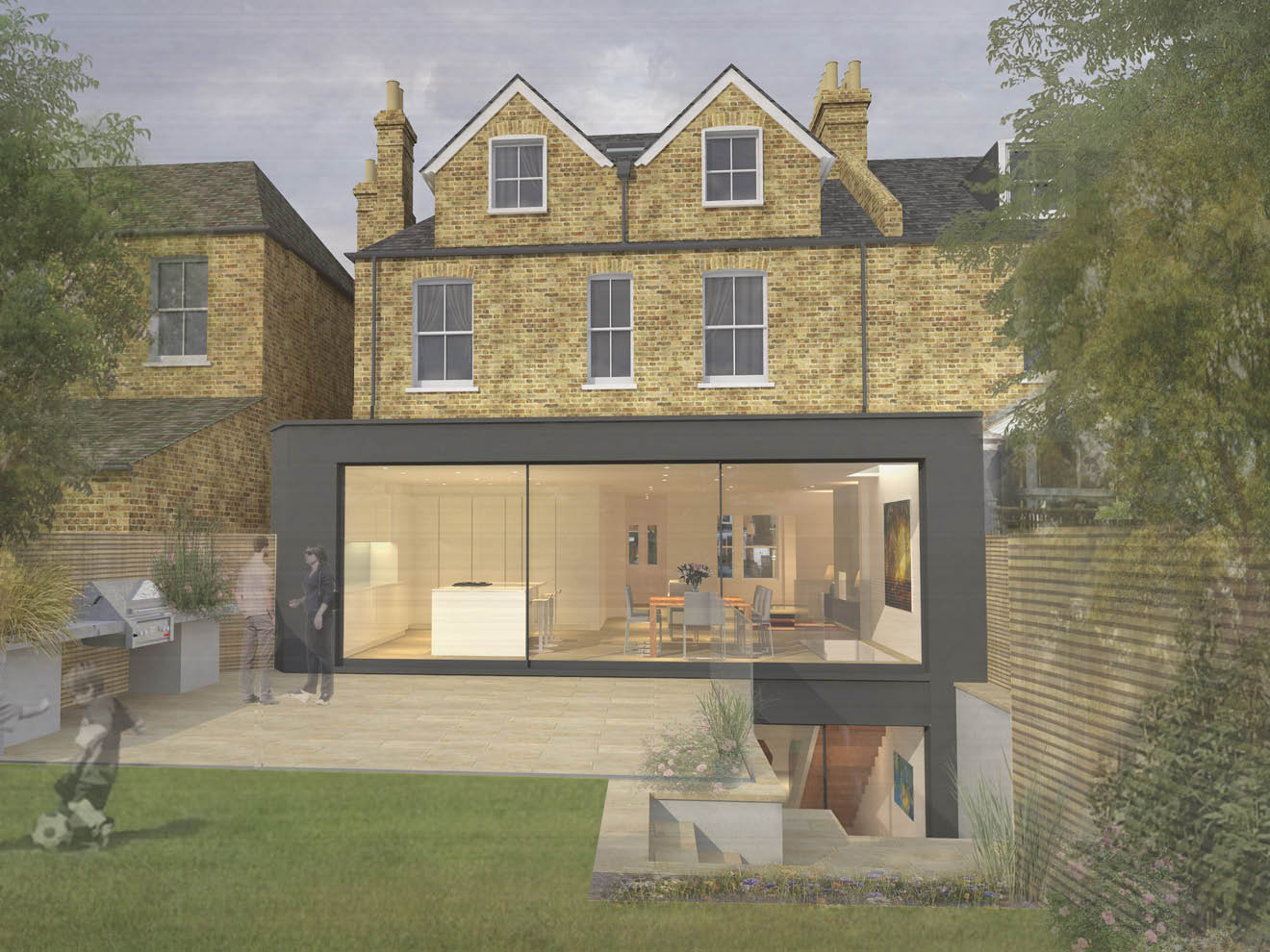 Planning Approval Has Been Granted For A Roof Extension