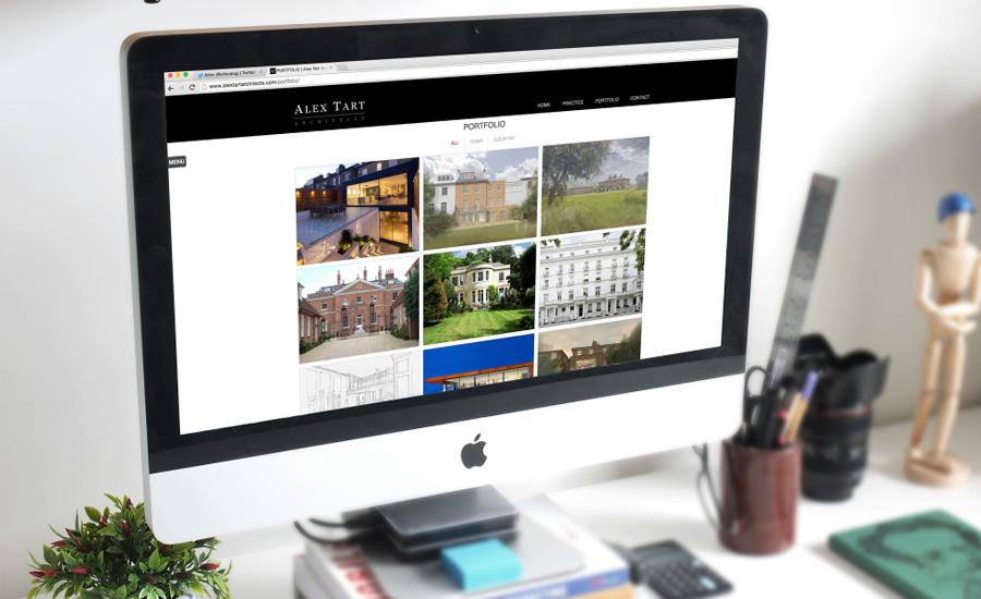 Alex Tart Website